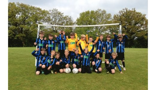 Foxgrove sponsored Sevenoaks U10's win the League