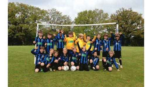 Foxgrove sponsored Sevenoaks U10's win the League